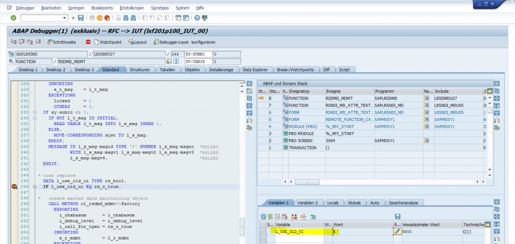 Browser-based master data maintenance since SAP BW 7 40 – EPM Data