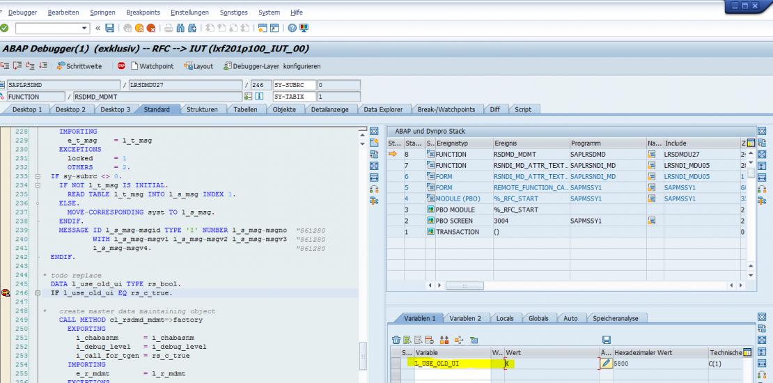 browser based master data maintenance since sap bw 740
